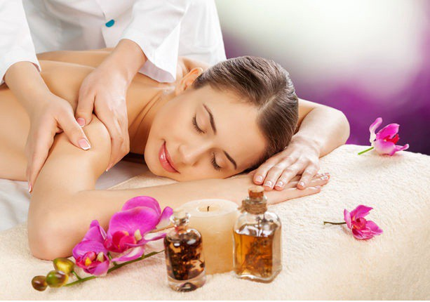 aromatherapy woman